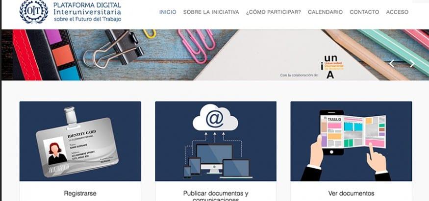 La OIT pone en marcha la Plataforma Digital Interuniversitaria sobre Futuro del Trabajo