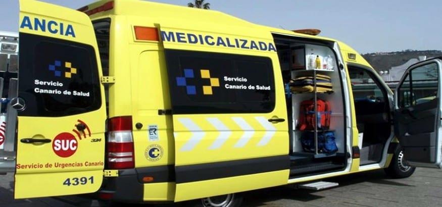 Huelga de ambulancias en Canarias por el bloqueo de las patronales en la negociación del convenio