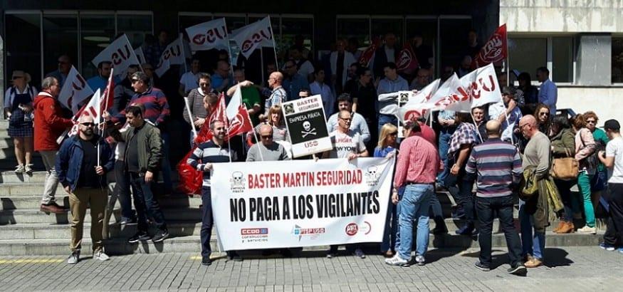 Los trabajadores de la FTSP-USO de Asturias inician movilizaciones por impagos