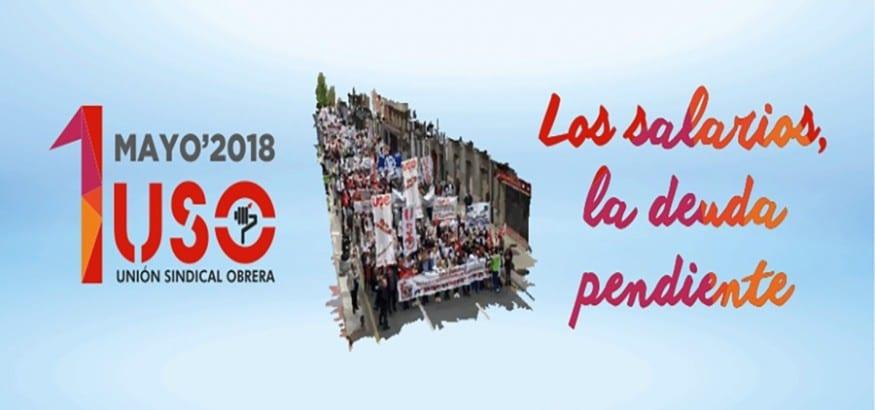 El 1 de Mayo reivindicamos en la calle la subida de los salarios