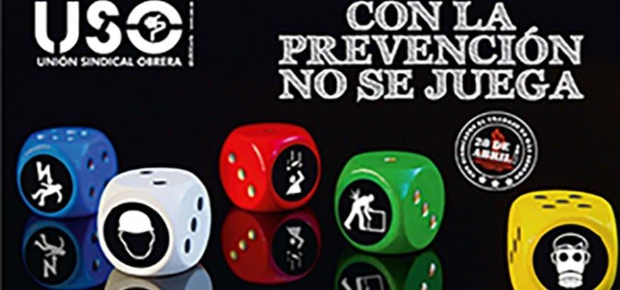 Manifiesto 28 de abril. Con la prevención no se juega.