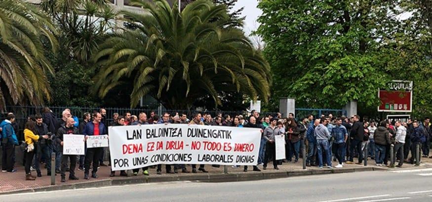 Los trabajadores de Tubacex, en huelga por unas condiciones laborales dignas