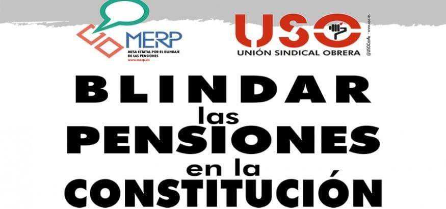 USO inicia una recogida de firmas en centros de trabajo y ciudades para blindar las pensiones