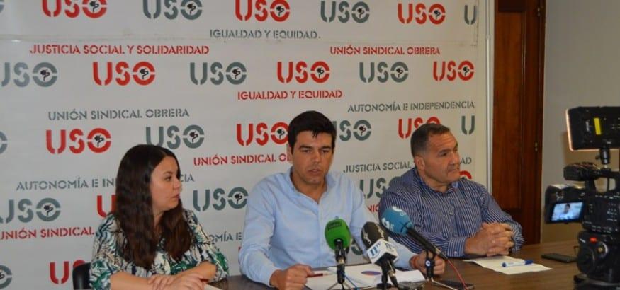 USO presenta la manifestación del 1 de Mayo en León y pide un aumento salarial y empleo de calidad