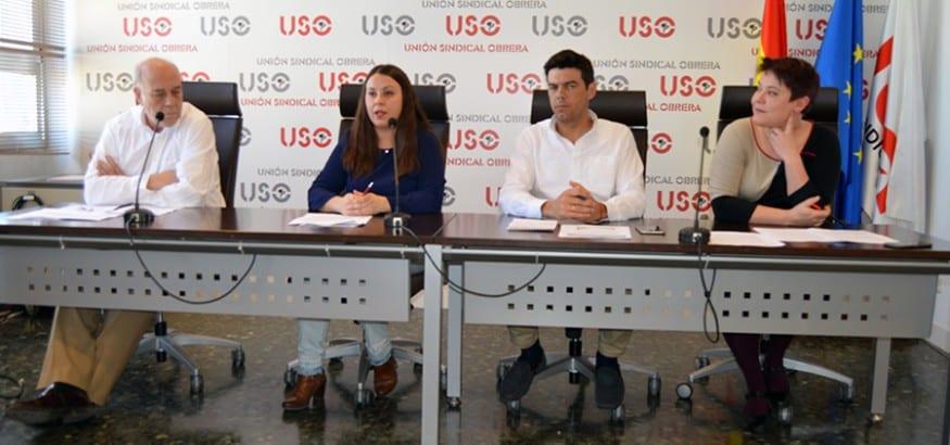 USO denuncia que los salarios ya suponen menos de la mitad de la riqueza de España