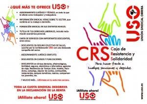 ¿Qué es la CRS?