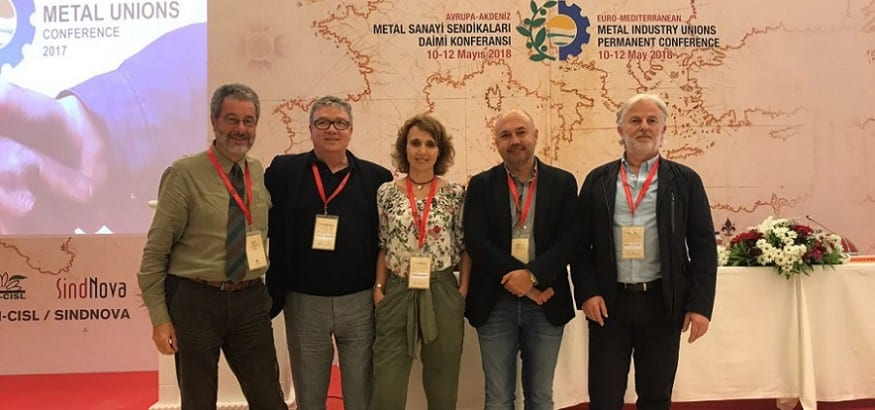 FI-USO participa en la 2º Conferencia de Sindicatos Europeos del Metal