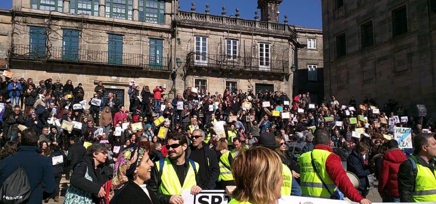 SPJ-USO reclama un acuerdo justo para los trabajadores de Justicia gallegos