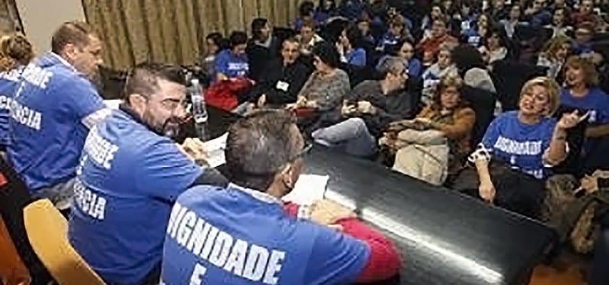 SPJ-USO suspende la huelga de Justicia en Galicia