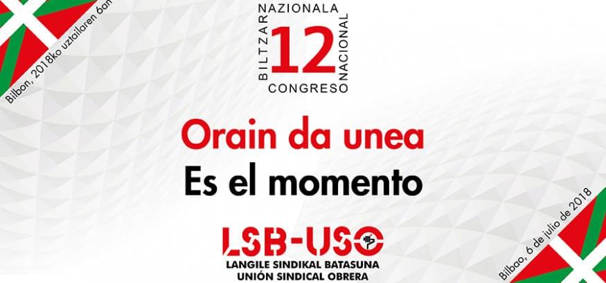 LSB-USO Euskadi celebra su 12º Congreso Nacional el próximo 6 de julio