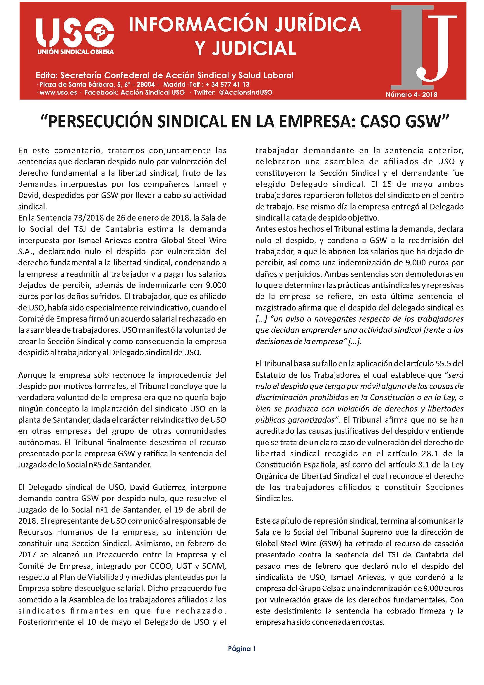 Información Jurídica y Judicial nº 4