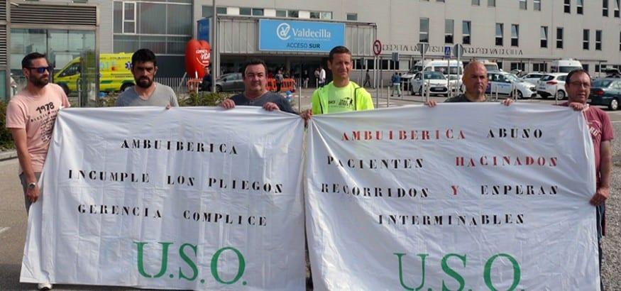 USO denuncia graves deficiencias en el transporte sanitario en Cantabria