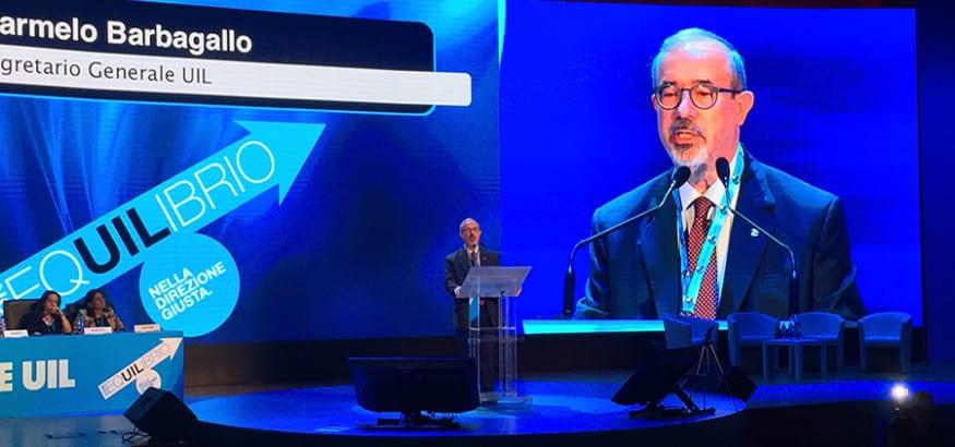 USO, en el Congreso de la UIL de Italia