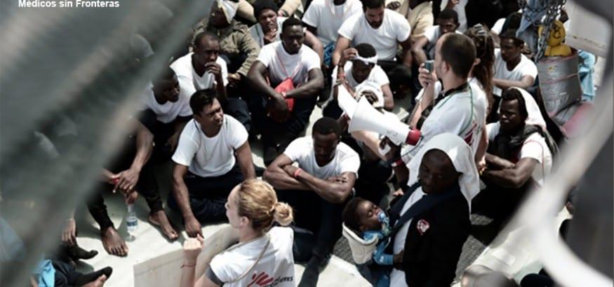USO lamenta la decisión de Italia sobre los inmigrantes del Aquarius