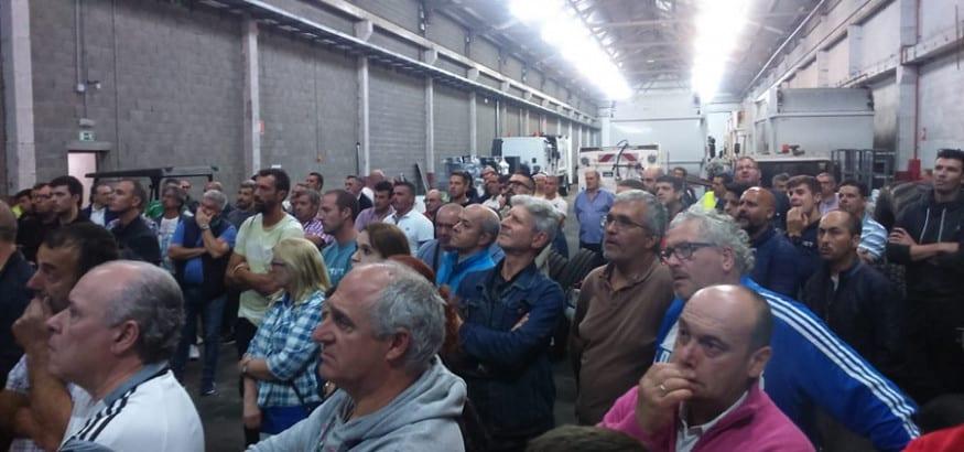 Unanimidad en la asamblea de FCC-Vigo al acuerdo del comité y levanta la huelga de limpieza