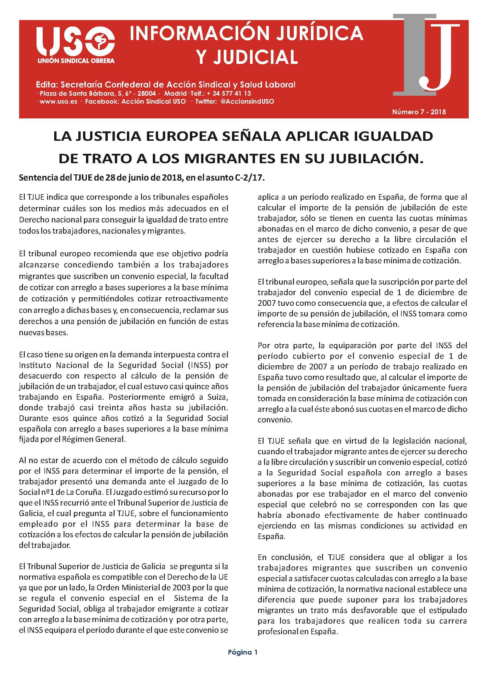 Información Jurídica y Judicial nº 7