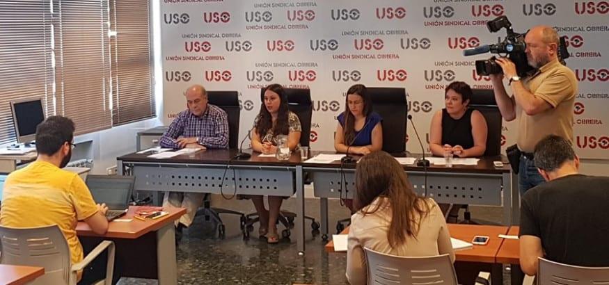 USO denuncia que las mujeres duplican a los hombres en remuneración por debajo del SMI
