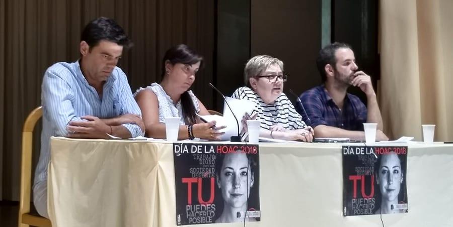 Joaquín Pérez defiende la acción sindical en los Cursos de Verano de la HOAC