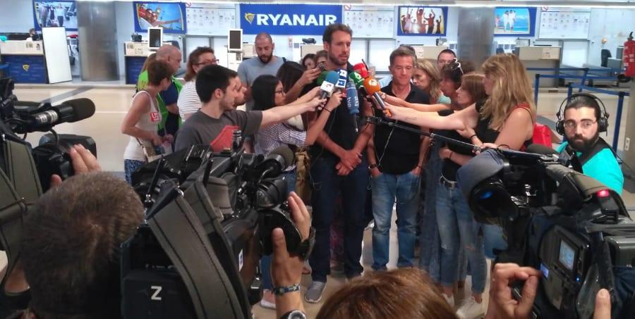 USO reclama la actuación del Gobierno para defender los derechos de los TCP de Ryanair