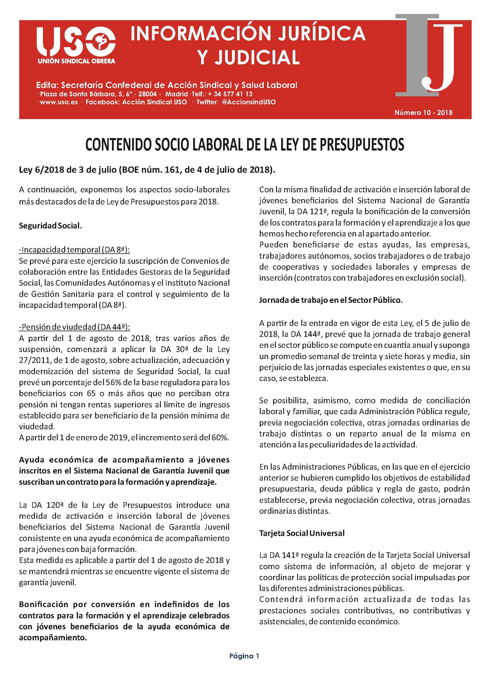 Información Jurídica y Judicial nº 10