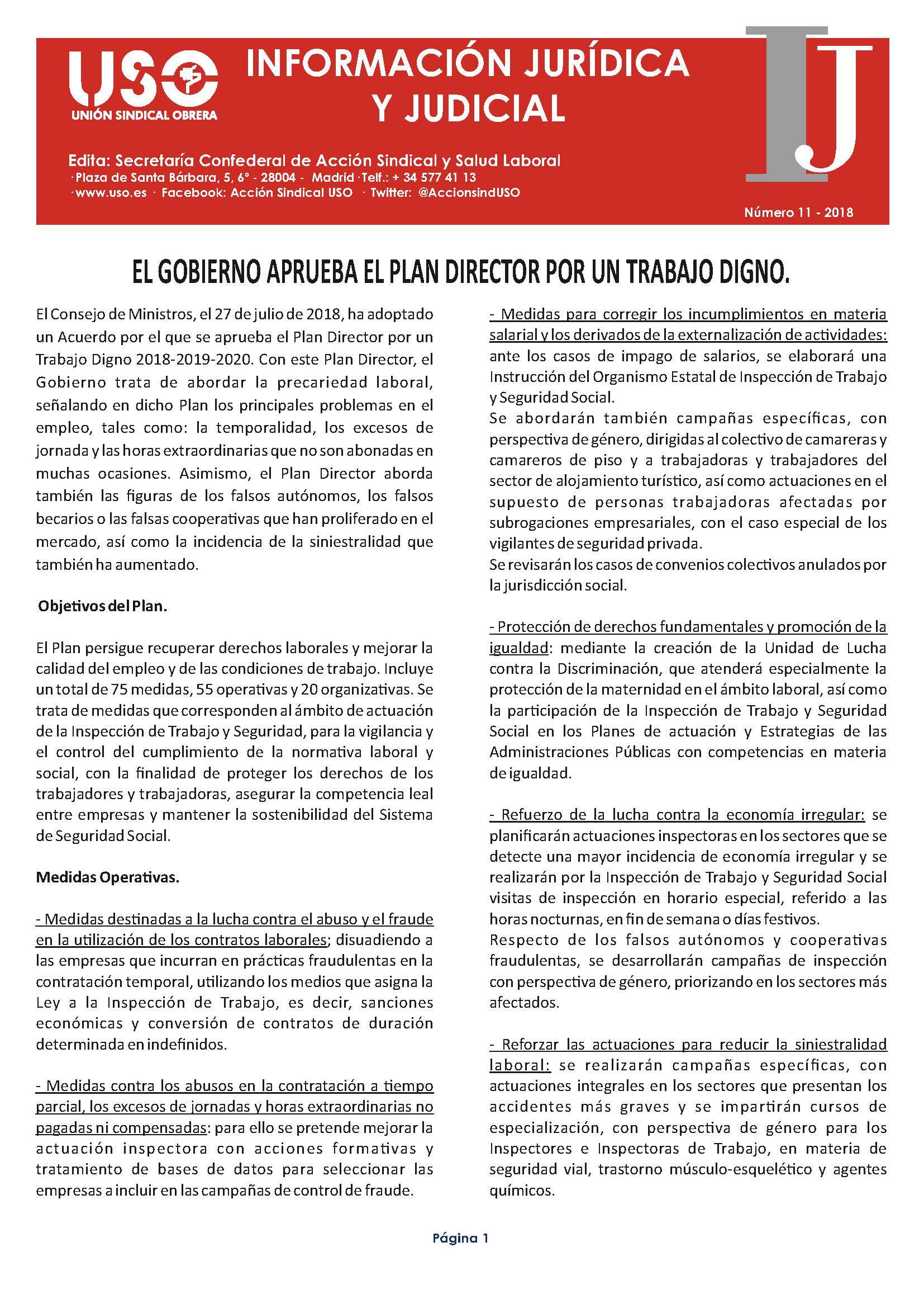 Información Jurídica y Judicial nº 11