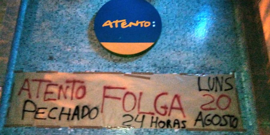 Nueva jornada de huelga en Atento Coruña