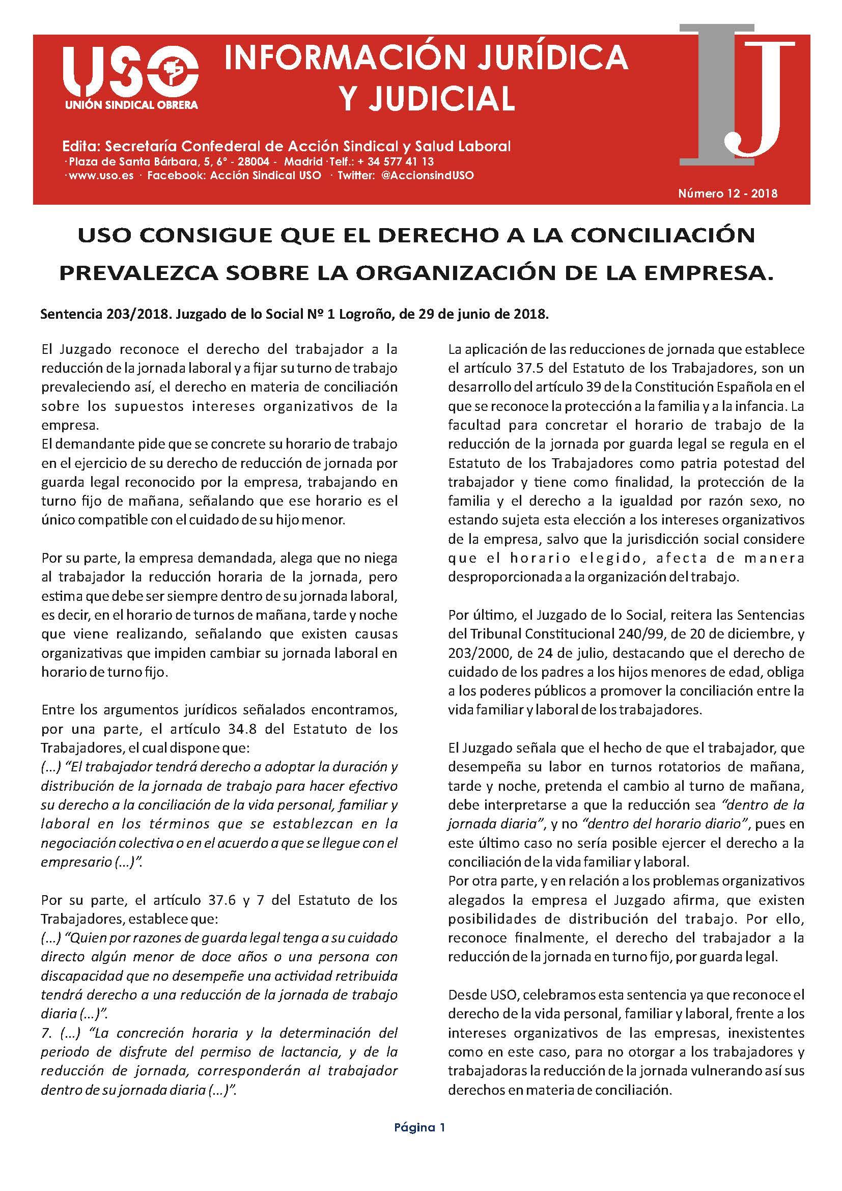 Información Jurídica y Judicial nº 12