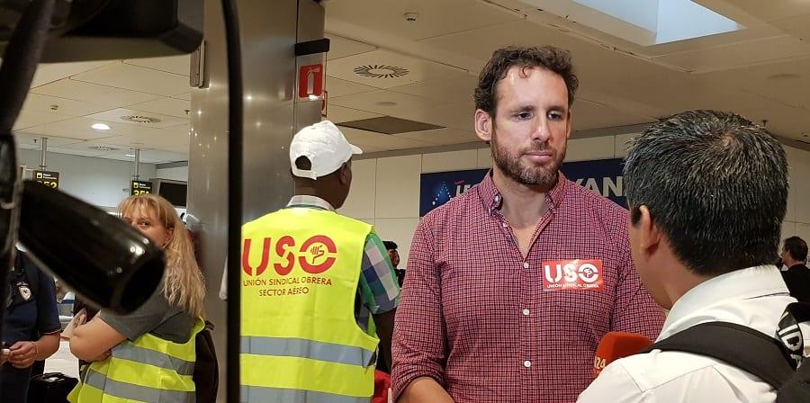 USO reprueba que Ryanair trate de vándalos a los huelguistas para tapar su propia incompetencia