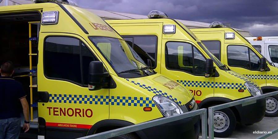 USO-Extremadura denuncia la limitada capacidad asistencial de las ambulancias del SES
