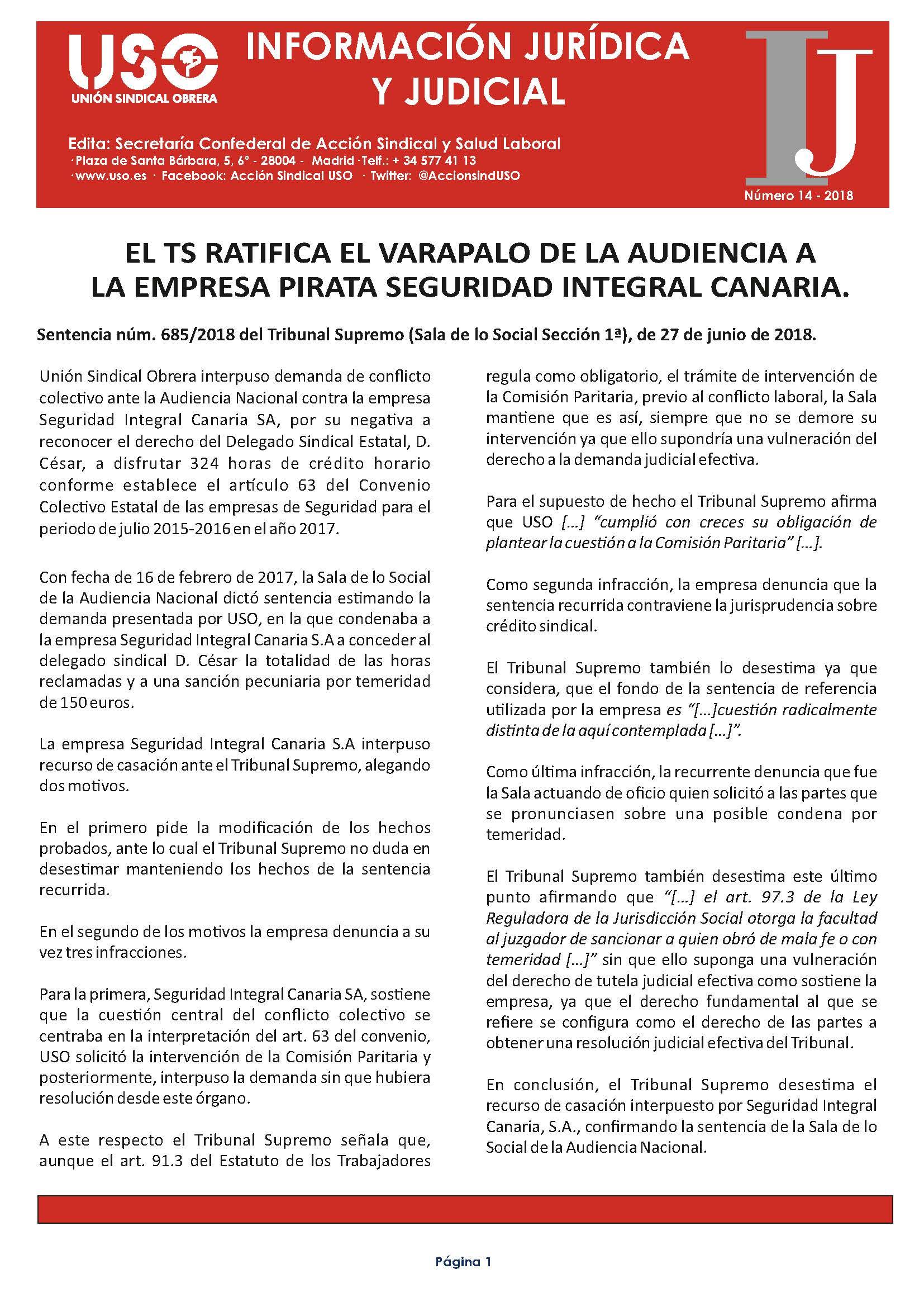 Información Jurídica y Judicial nº 14