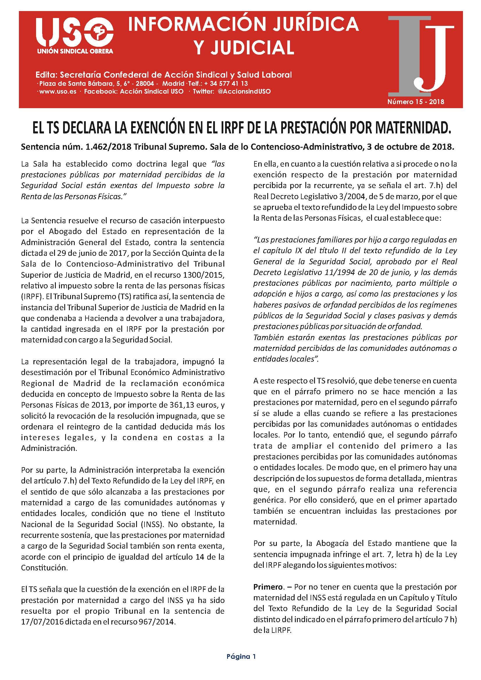 Información Jurídica y Judicial nº 15