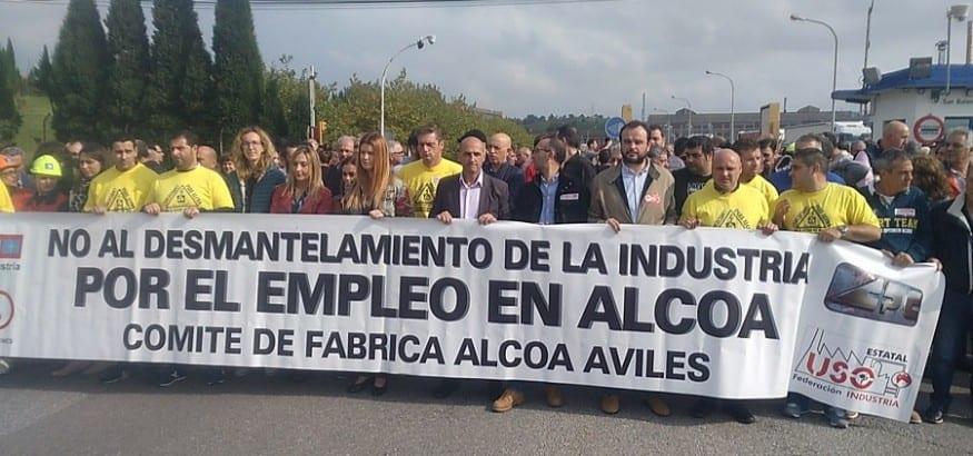 Los trabajadores de Alcoa afrontan una semana decisiva de negociaciones