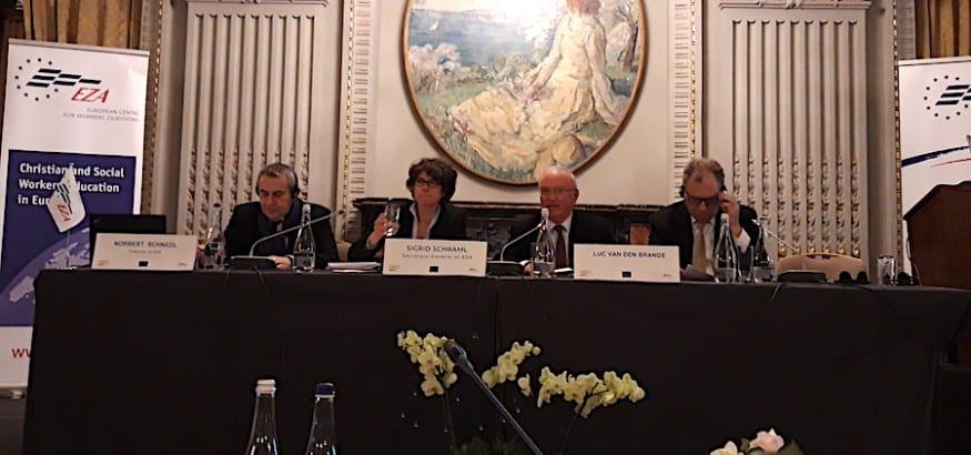 """USO participa en el seminario `Prioridades del Diálogo Social Europeo"""" y en la Asamblea General de EZA"""