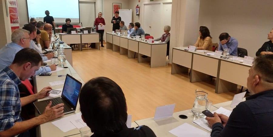 USO organiza un seminario técnico sobre análisis económico y financiero desde la Acción Sindical
