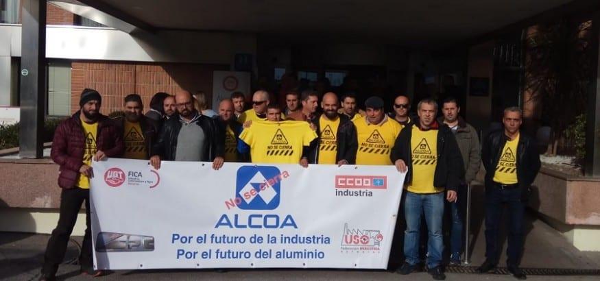 Constituida la Comisión Negociadora de Alcoa-Avilés y A Coruña, que se reunirá semanalmente