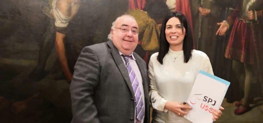 SPJ-USO se reúne con el PSOE para trasladarle sus reivindicaciones ante la modificación de la LOPJ