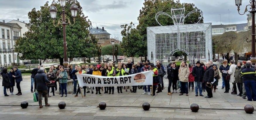 Cinco jornadas de huelga en el Ayuntamiento de Lugo contra el proyecto de RPT