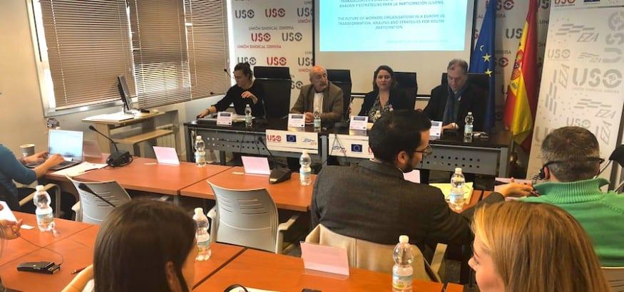 USO organiza el Seminario EZA sobre el futuro de los sindicatos y la participación juvenil