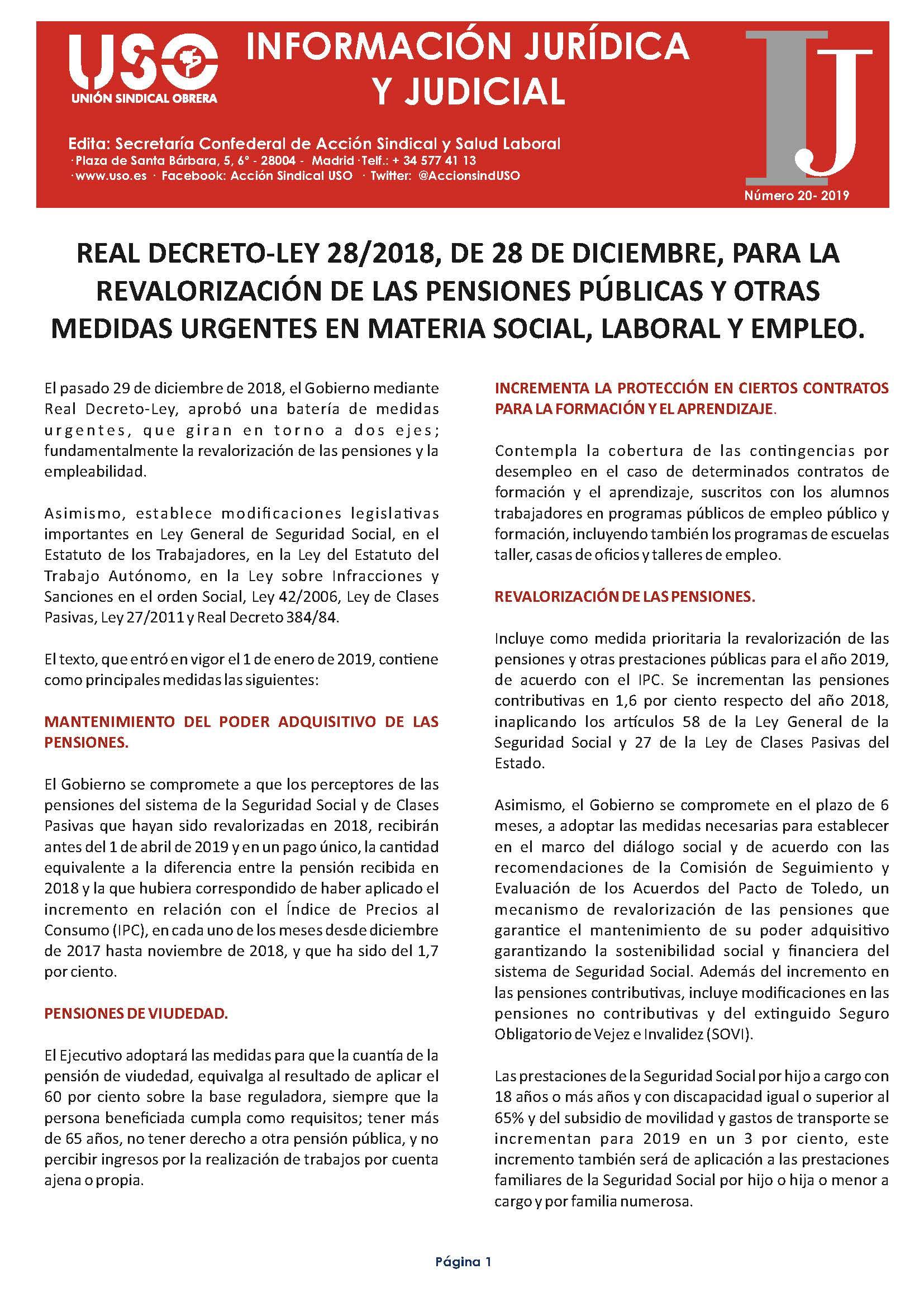 Información Jurídica y Judicial nº 20