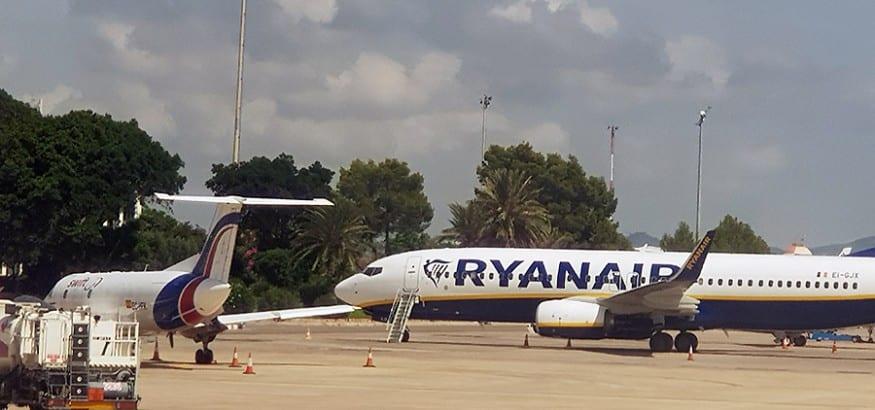 Los TCP de Ryanair llegan a un acuerdo con la compañía y desconvocan las jornadas de huelga