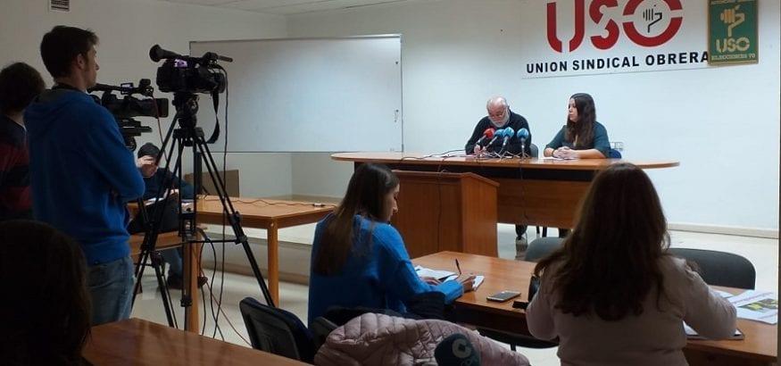 USO denuncia que los murcianos han perdido 60 euros al mes de poder adquisitivo durante la crisis