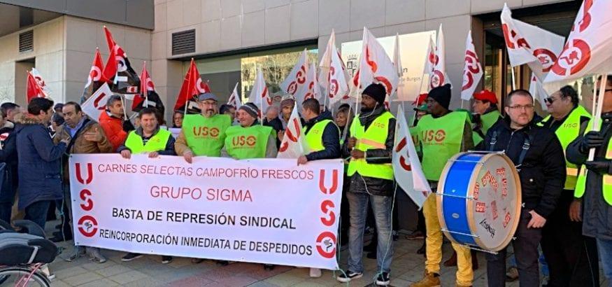 Campofrío rechaza readmitir a Alfonso Callejo, delegado de USO despedido por su labor sindical