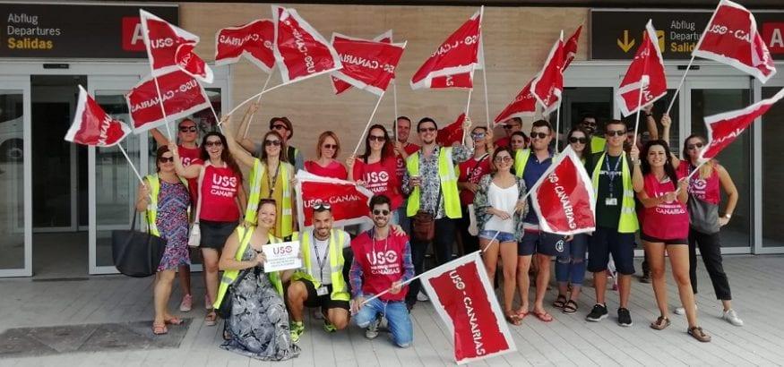 USO y SITCPLA acuden al Tribunal Laboral de Canarias por traslado forzoso de tripulantes de Ryanair