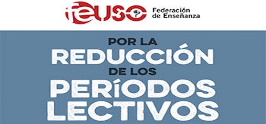 FEUSO exige la reducción de la carga lectiva para todos los docentes de los centros concertados