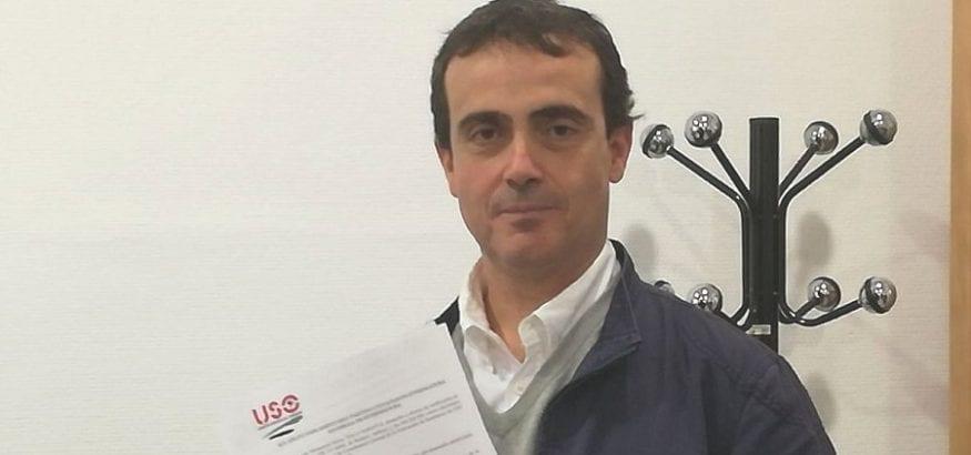 Javier Monserrat se pone al frente de la Coordinadora de USO-Extremadura