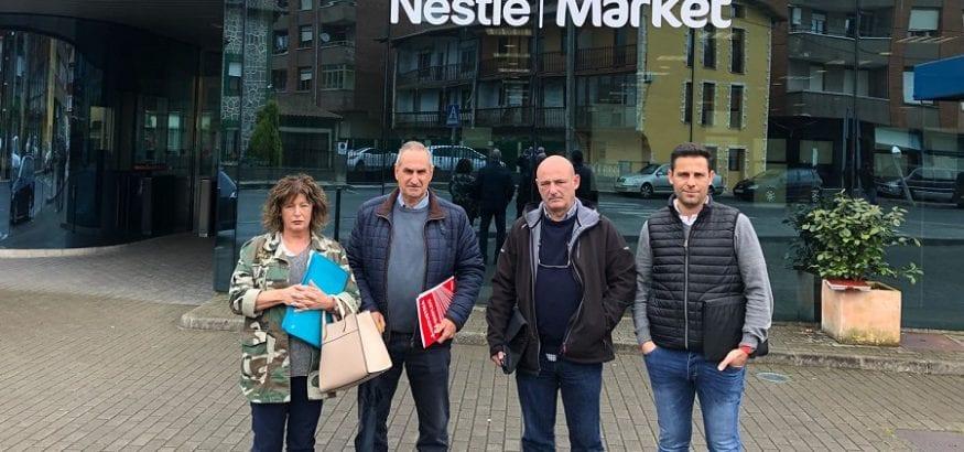 USO firma el convenio colectivo de Nestlé-La Penilla con una subida salarial del 15% a cinco años