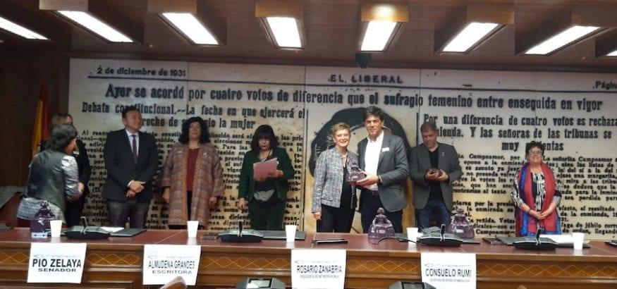 """Joaquín Perez, premio """"Menina 2019"""""""