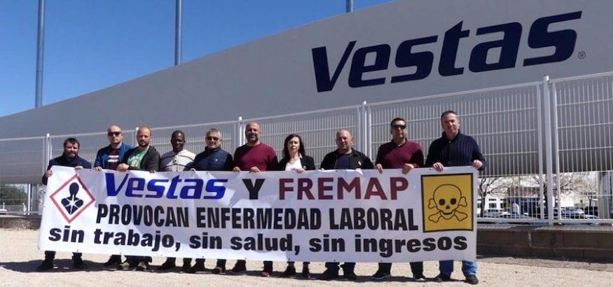USO denuncia incumplimientos en materia de prevención en Vestas Daimiel
