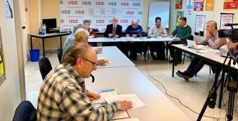 AJUPE-USO Baleares defiende pensiones públicas dignas y protegidas en la Constitución