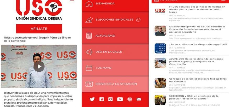 Ya os podéis descargar la app de USO